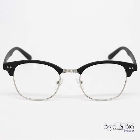 b544c59c3 Smith plata negro mat-sista & Bro eyewear- protección luz azul – Montura  Tendance