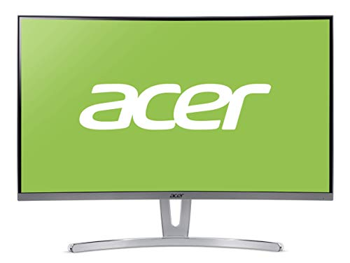 Acer UM.HE3EE.005 Curved Monitor, 27 Zoll (Full HD) silber