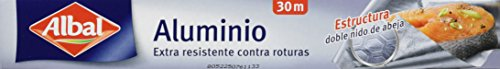 Albal - Papel aluminio - extra resistente contra roturas - 30 m - [Pack de 2]