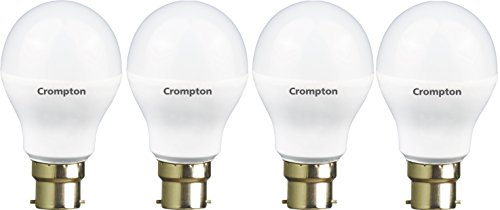 Crompton 7WDF B22 7-Watt LED Lamp (Cool Day Light and Pack of...