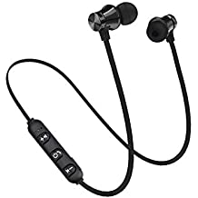 DOGZI Auriculares magnéticos Bluetooth,Auricular inalámbrico Bluetooth para Deportes Auricular estéreo BT 4.1 Auriculares para