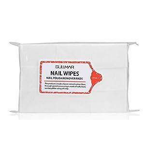 Natuce Nagellackentferner, Baumwoll-Pad, Nagelwischer, Nail Art, Maniküre, Nagellackentferner, Reinigungstücher aus Baumwolle