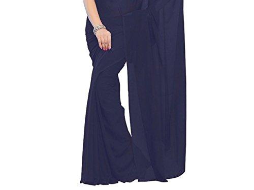 Navyata - Robe - Femme blanc blanc taille unique Bleu