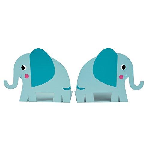 Elvis Der Elefant Buchstützen (Set von 2) - Zwei Buchstützen