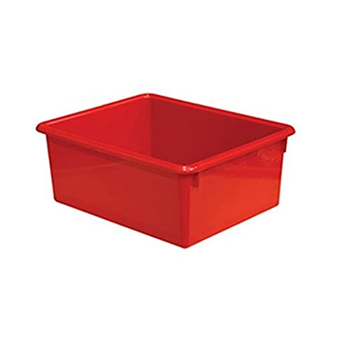 Wood Designs WD78004 5 Rectangular Letter Shattering Trays - Red by Wood Designs