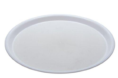 Ornamin 10299 Antirutsch Tablett Ø 37 cm (weiß)