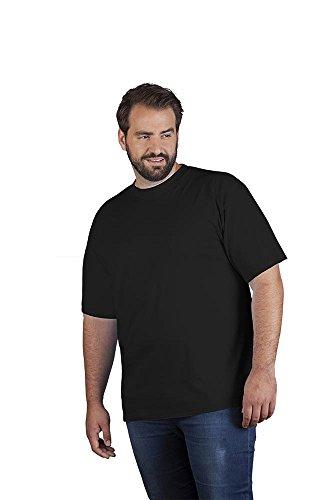 Premium T-Shirt Plus Size Herren, 4XL, Schwarz