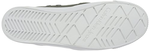 Calvin Klein Jeans DOLLY CANVAS, Chaussons avec doublure froide femme Multicolore (Military)