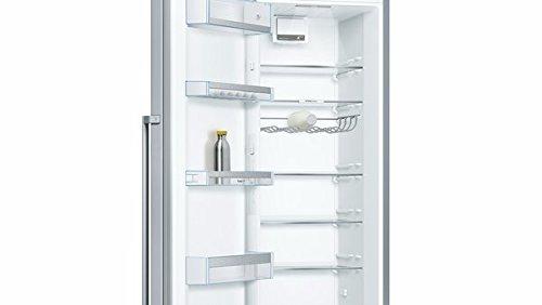 Bosch KSV36AI4P Serie 6 Freistehender Kühlschrank / A+++ / 186 cm / 75 kWh/Jahr / Inox-antifingerprint / 346 L…