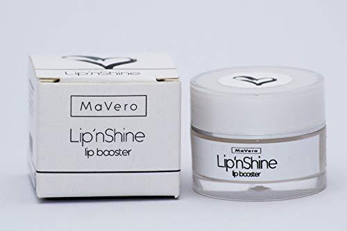 Lippenbooster ∙ Kühleffekt ∙ Regeneration für die Lippen ∙ MaVero Lip´nShine ∙ Shea...