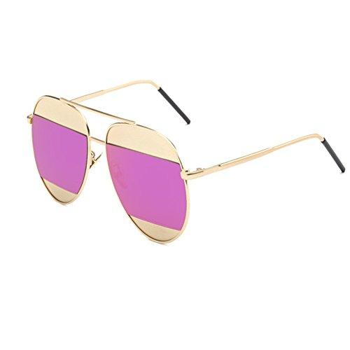 O-C Damen Sonnenbrille, Rot
