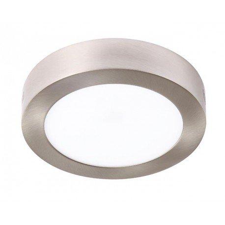 Plafón LED Circular Níquel 18W equivalente a 150W de incandescencia 1440Lm 4000K Luz Neutra ¡¡2 AÑOS DE GARANTÍA!! Envío GRATIS en compras superiores a 36 Euros Iluminashop