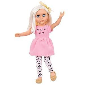 Glitter Girls Muñeca no posable con Purpurina para niñas de Battat