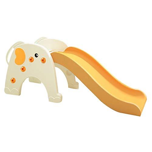 Haushaltsrutschen Plastikrutschen Kinderspielzeug Gartenrutschen Kombinationsspielzeug Für Kinder Plastikspielplatz Geschenk Für Kinder ( Color : Orange , Size : 143.5*50*59.5cm )