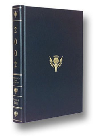 Britannica Book of the Year 2002: Events of the Year 2001