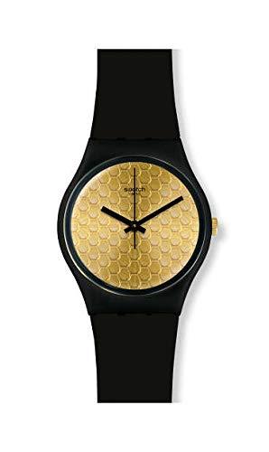Swatch Orologio Analogico Quarzo Donna con Cinturino in Silicone GB323