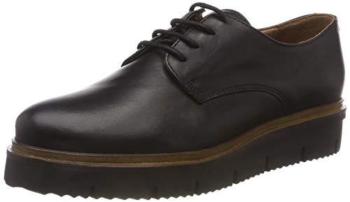 Bianco Damen Inn. Lace Shoe Sneaker, Schwarz (Black 100), 39 EU