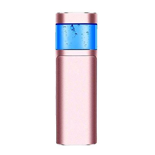 Providethebest Metallgesicht Herr Gesichtswasser Sprayer Körper Vernebler Dampfer Moisturizer Hautpflege Spray Beauty Instruments Rose Gold