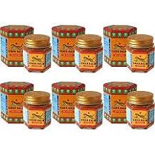 Tiger Balm rot, 21 g Original Thai-Massage 6 Big-Behälter für Schmerzlinderung & Insekten bite weltweit kostenloser Versand