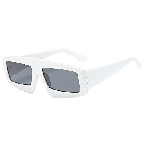YWLINK Klassisch Strand Urlaub Retro Brillen Damen Herren Platz Sonnenbrillen Integrierte UV-GläSer...