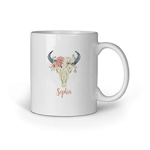 Loomiloo Tasse Sophia Boho Tassen Kaffeebecher Kaffeetasse Becher Bedruckt Spruch Coole Motiv Geschenk