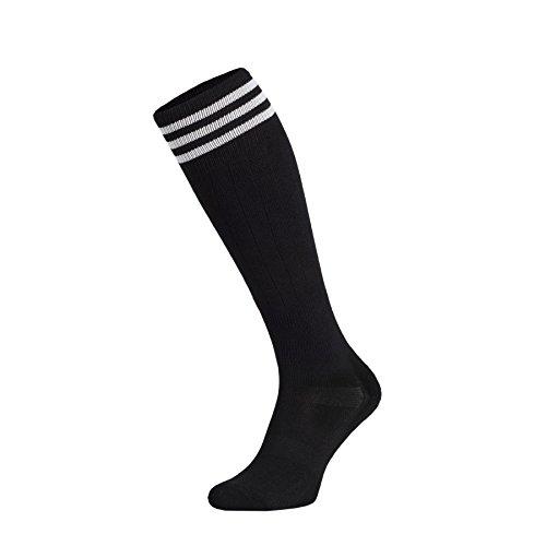 �mpfe Baumwollkniestrümpfe Volleyballsocken Sportsocken Socken Damensocken Strümpfe Baumwollstrümpfe Laufsocken Volleyball - Fitness - Tanzen - Inline ()