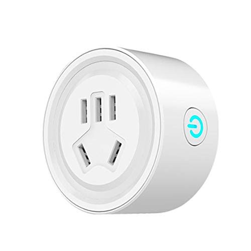 Preisvergleich Produktbild DZSF WiFi Smart Socket APP Handy-Fernbedienung US-Standard Smart Plugs Kein Hub erforderlich,  Fernbedienung Ihrer Haushaltsgeräte von überall