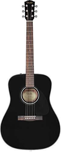 Fender CD-60S Dreadnought V3 DS BLK WN Westerngitarre