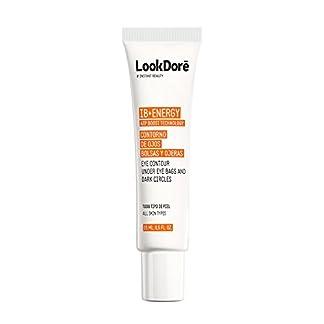 Lookdore IB+ Energy Crema Contorno de Ojos – Corrector Ojeras – Vitamina C Facial – Anti Fatiga