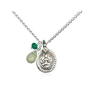 Bijoux Satya - Jade Lakshmi Onyx - Collier avec pendentifs