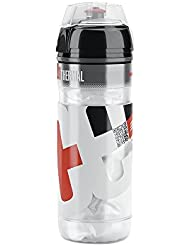 Elite Iceberg - Bidón de ciclismo, color rojo, 500 ml