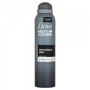 deodorante uomo spray men+care invisble dry senza alcool antimacchia 150 ml