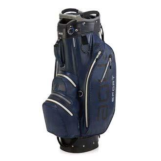 BIG MAX AQUA Sport 2 Golf Cartbag 2018 - 100% Wasserdicht (Navy/Black/Silver)