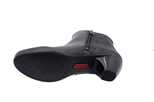 5880 bottine en femme semelle Noir Piesanto Chaussure comfortables amples casual confort cuir SgCYnqBw