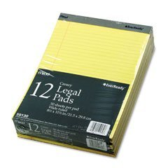 mead-ever-wide-ruled-8-1-2-x-11-3-4-canarias-50-hoja-pads-59130-12-unidades