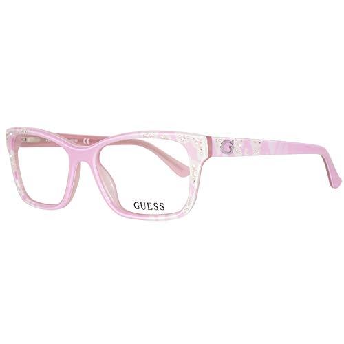 GUEX5 Damen Brillengestelle Brille GU2553 53074, Pink, 53