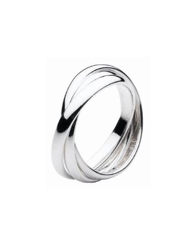 Dew Women's Sterling Silver Russian Wedding Ring