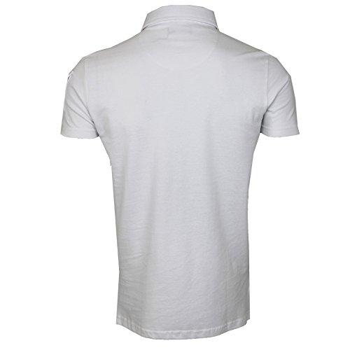 Brave Soul Herren Poloshirt * Weiß