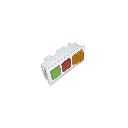 ORIGINAL Liebherr 6071877 Leuchten Schalterkombination Schalter Knopf Leuchte Gefriertruhe Kühlschrank u. a. GT1402-24, GT6102-25A, GTS6112-20C