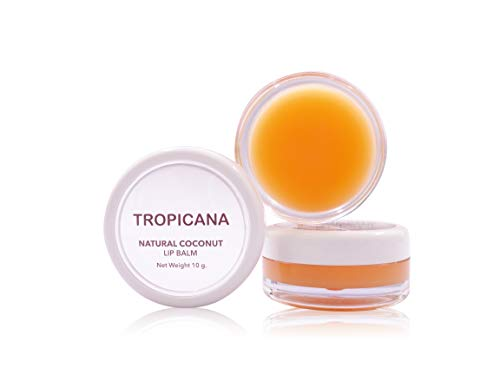 Tropicana Oil Doppel Packung Natürlich Lippenbalsam Mango Spirit 2x10g | Kaltgepresstes...