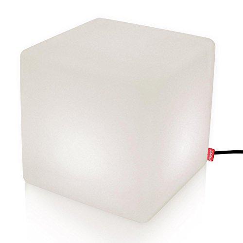 moree Bodenleuchte Cube Outdoor Weiß IP44 | 40W 532lm warmweiß | 06-06-01