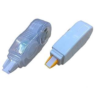 Qpower 20 Pack Korrekturband Mini White Out Tape Cute Schreibband für Schulkinder Studenten