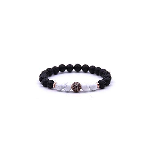 Armband Armreif, Schmuckgeschenk,Anil Arjandas Ball Bracelet Men Jewelry Stone Bracelets for Women Pulseira Masculina Feminina Bileklik Pulseras Mujer Bijoux New bileklik -