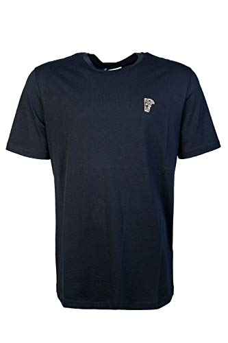 Versace Kollektion klassisches T-Shirt Black SMALL