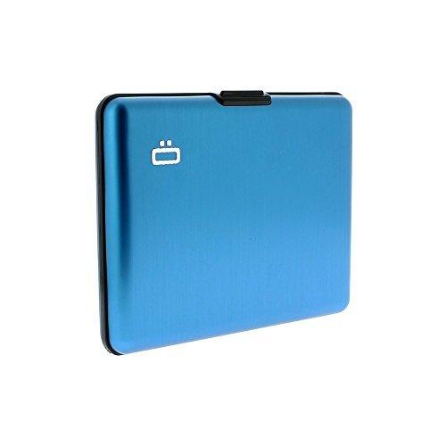 Ögon BS-Blue Portefeuille Big Stockholm wallet Bleu Aluminium anodisé