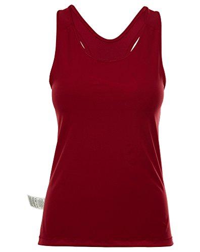 Nike Pro Cool Débardeur Femme Rouge (Noble Red / White)