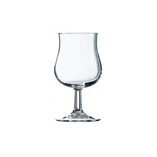 Visiodirect Lot de 48 Verres à vin Bacchus Transparent - 37 cl