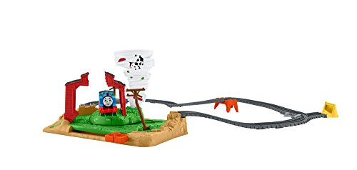 Thomas & Friends FJK25 Twisting Tornado Set, Thomas the Tank Engine Toy Set, Track Master Train, 3-Year Old