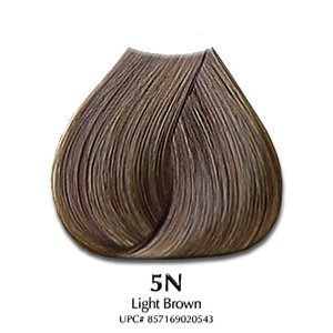 SATIN Hair Color Natural Series 5N Light Brown 3 oz (Model: SAT2054) by Satin Hair Color