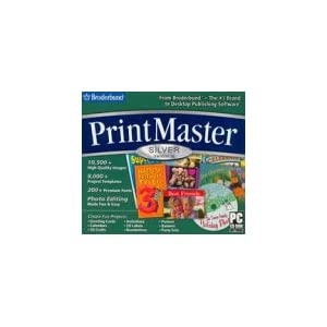 BrÞderbund Software Print Master Silver 16.0 (Jewel Case) – Old Version(CD)